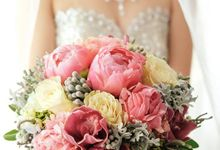 Bridal Bouquets by Natural Art Flowers and Decors