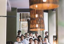 Congrats to newly weds Beh and Leng Chee by Gita Bayu