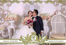 Bennu And Leonita Wedding by Gentleman Photobooth
