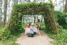 Romantic Proposal of Leonard to Nicole by Awesome Memories Photography
