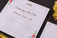 Fara & Ikbal's Wedding Invitation by Hiraloka