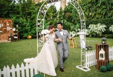 Derrick and Eena by Whitekraft Event Management and Styling