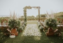 Bali Greenery Rustic with Boho Touch Wedding Decoration by Bali Izatta Wedding Planner & Wedding Florist Decorator
