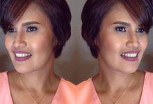 Detailed Make up by Roge Bernaldez by Roge Bernaldez Make up Artistry