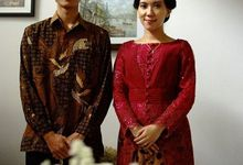 The Engagement Of Winta and Dedi by Seserahan by Rose Arbor