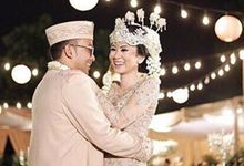 The Wedding of Andina and Yoyo by Seserahan by Rose Arbor