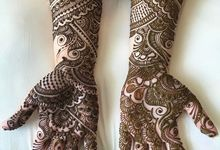 Bridal Henna - Intricate by Nakreze Mehndi