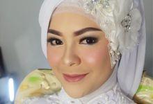 Depti &  Zhali Wedding by Nayah Make Up Artist