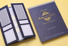 Niken & Muad's Wedding Invitation by Hiraloka