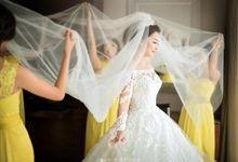 WEDDING DAY FOR ALBERT & DEVI by Fedya Make Up Artist