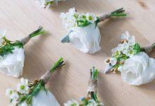Boutonierres by Fleurs By Spoleczny