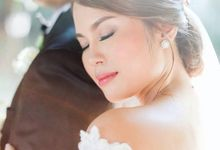 Bride Cathrine by Ayen Carmona Make Up Artist