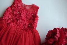 Red dress by Happy Elm