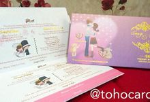 Michael & Hernica Invitation by Toho Cards
