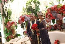 The Wedding of Yuanita and Syariat by Seserahan by Rose Arbor