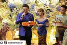 The Engagement of Adiez and Gilang by Seserahan by Rose Arbor