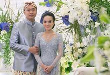 The Wedding of Dea and Putra by Seserahan by Rose Arbor