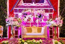 Tema Batak Mandailing Mix Bali by Watie Iskandar Wedding Decoration & Organizer