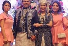 Thw Wedding of Rhina and Arta by Seserahan by Rose Arbor