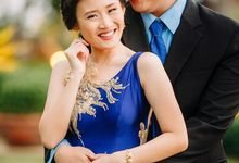 Merriam and Jerome Engagement shoot by Khristelle Tan Bridal Couture