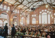 St Georges Church Wedding - Yu Lan & Wayne by Samuel Goh Photography