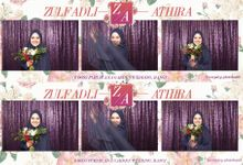 Athira & Zulfadhli - Wedding Photo Booth by Theseplay Photo Booth