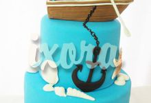 Wedding 5 by Ixora Cakes