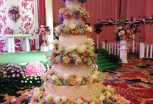 wedding cakes by Cake Et Cetera