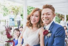 Daphne & Ming Wedding by Fluttery Tips