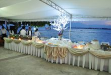 Beach Wedding by Chef Eiron's Food and Catering