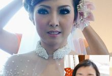 Hutomo & Selvy Wedding by Marcelline Vony MUA