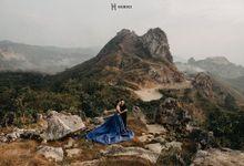 Varis & Vicky Prewedding by iLook ( Makeup & Couture )
