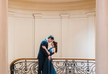 College Sweethearts  School Themed Engagement session with an Elegant twist by Peach Frost Studio