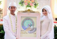 The Wedding Of Vidya And Dian by Seserahan by Rose Arbor