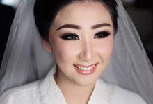 Wedding makeup ce Margareth & Ko Rocky by Imel Vilentcia Make Up Artist