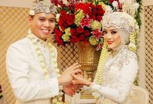 The wedding of Zahra and Chairul by Seserahan by Rose Arbor