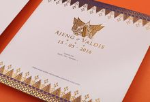 Ajeng & Valdis's Wedding Invitation by Hiraloka
