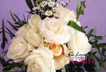 Rustic Wedding Bouquet by Se Leva Florist