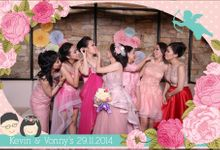The Wedding of  Kevin and Vonny by E'moment studio Photobooth
