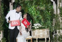 Zaida & Arif Wedding by New Picturesque Express Photo Corner / Photobooth