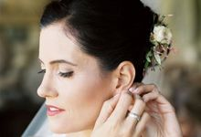 Rory's Wedding by Beauty and the Belief Hair and Makeup Artistry