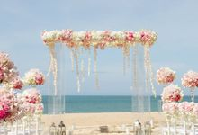 Extravaganza Wedding of Jazz and Celine  -  W RETREAT KOH SAMUI by BLISS Events & Weddings Thailand