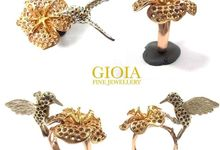 Flora Bird Ring by GIOIA FINE JEWELLERY