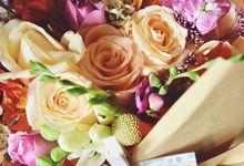 Kraft Paper flowers / Daily flowers  by Fleurs By Spoleczny