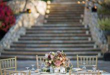 Rose Gold Wedding at Four Seasons Jimbaran by Flora Botanica Designs
