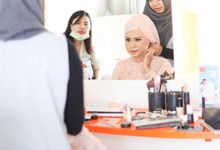 Walid & Aulia Wedding by bjcmakeupartist