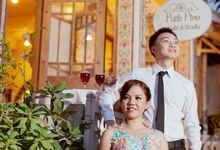 Mell and Aried Prewedding by bjcmakeupartist
