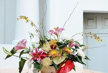 Vas flowers for special occasions by Alegria Malya