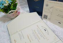 Marvin & Diana Wedding Invitation by Invitown