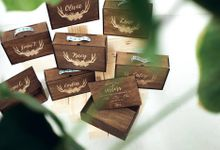 Bridesmaids and Bestman Gifts by Common Hands